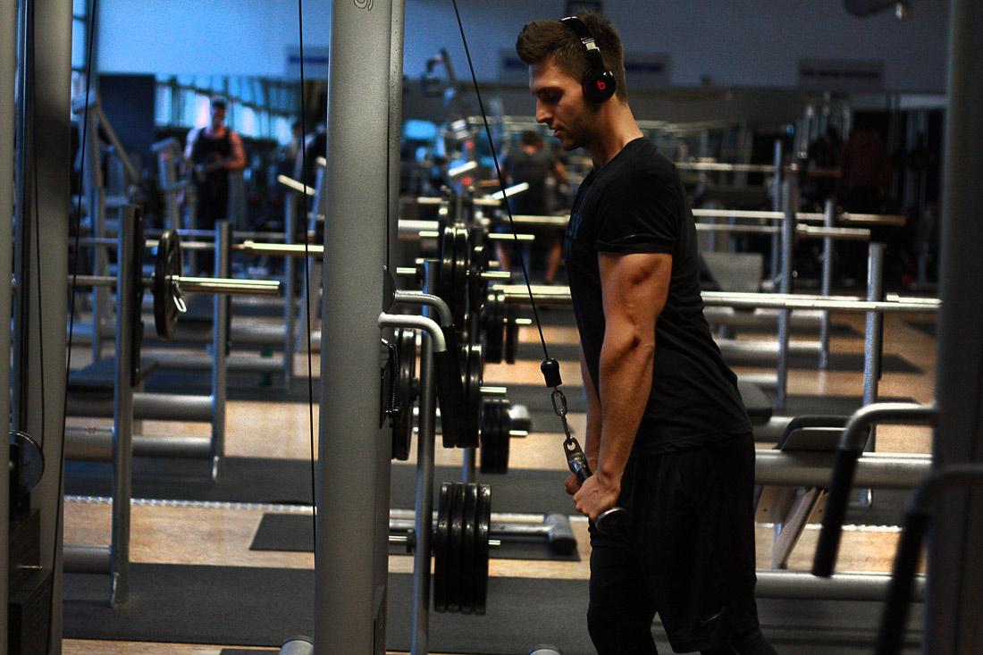 Fitness Blogger Diät Workoutplan von Patrick Krueger