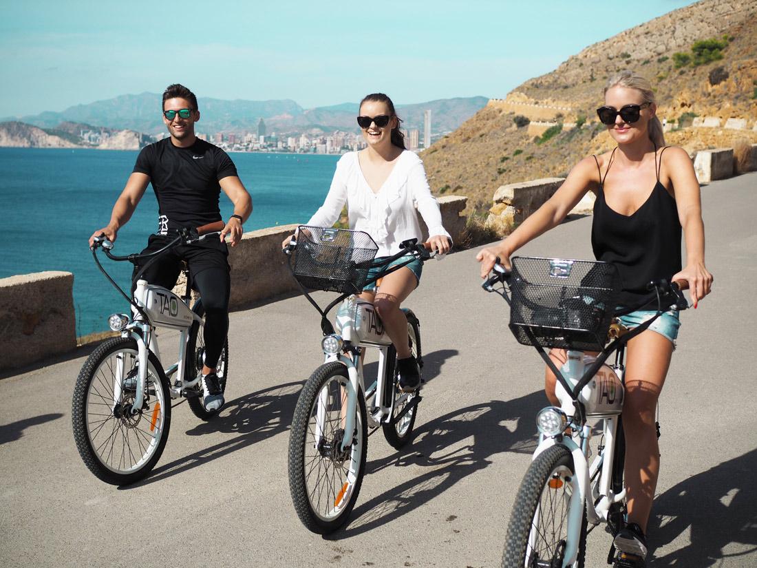 Benidorm Patrick Krueger Tao Bikes Ebike tour Blogger germany Travelblog