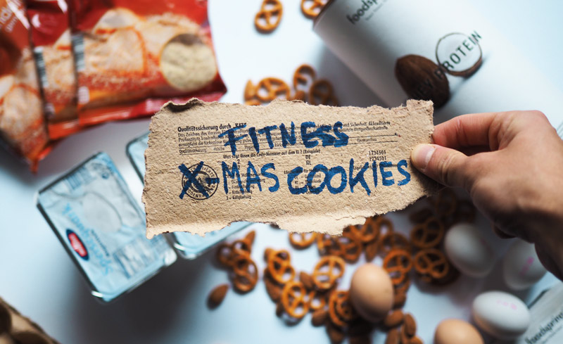 patrick Krüger Fitness blogger christmas cookies recipe